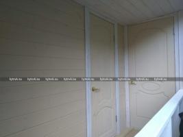 Терраса - вход в туалет и хозблок