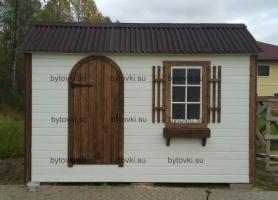 Хозблок-домик, 4х2 в английском стиле