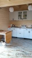4916 kuchnia w domu drewnianym 2