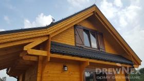 4948 dom drewniany letniskowy fiolek