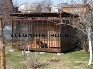 """Вольер для собак """"АСТОРИЯ"""""""